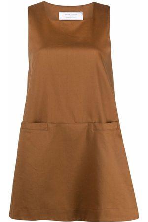 SOCIÉTÉ ANONYME Sleeveless mini swing dress