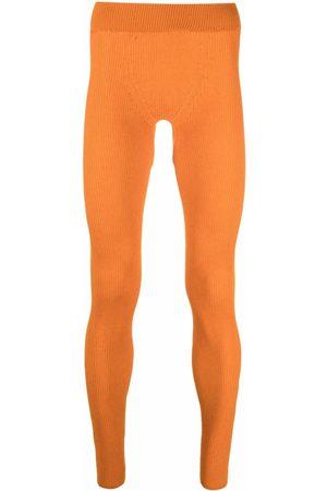 Jacquemus Skinny-cut knitted leggings