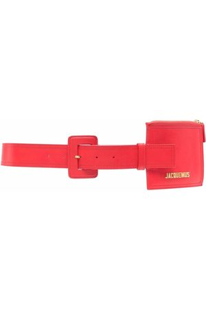 Jacquemus Leather belt with pouch