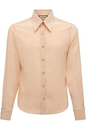 Gucci Silk Crepe De Chine Shirt