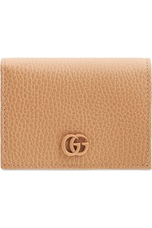 Gucci Women Purses - Gg Leather Card Case