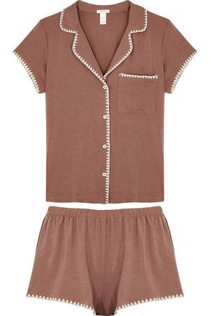 Eberjey Frida jersey pyjama set