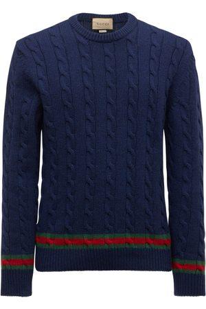 Gucci Cashmere & Wool Knit Sweater