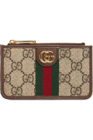 Gucci Women Wallets - Ophidia Gg Supreme Zipped Wallet