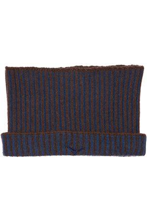 Sease Men Scarves - Ribbed Cashmere Reversible Neck Warmer