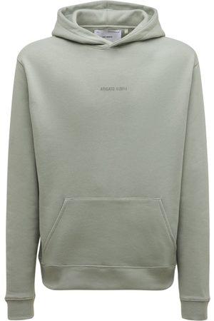 Axel Arigato Men Hoodies - Monogram Organic Cotton Hoodie