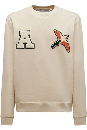 Axel Arigato Varsity Bee Organic Cotton Sweatshirt