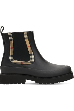 Burberry Girls Boots - Leather Boots