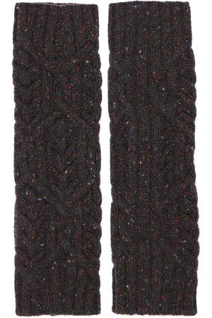 Loro Piana Gloves - Baby Cashmere Knit Tweed Wrist Warmers