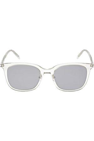 Saint Laurent Sl 489/k Thin Round Acetate Sunglasses