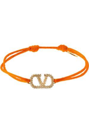 VALENTINO GARAVANI Women Bracelets - Crystal V Logo Slim Adjustable Bracelet