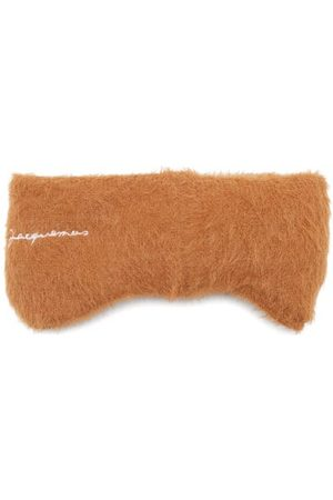 Jacquemus Neve Logo-embroidered Knitted Headband - Mens