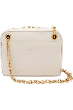 Saint Laurent Maillon Quilted Leather Cross-body Bag - Womens