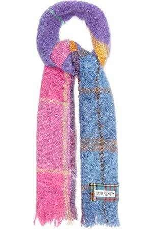 Rave Review Upcycled Patchwork Wool-blend Scarf - Womens - Multi