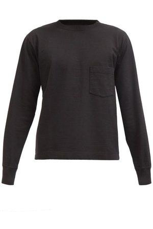 Snow Peak Patch-pocket Cotton-jersey Long-sleeved T-shirt - Mens