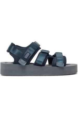 SUICOKE Men Sandals - Kisee-vpo Nylon Sandals - Mens - Navy
