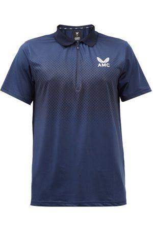 CASTORE Technical-jersey Polo Shirt - Mens - Navy
