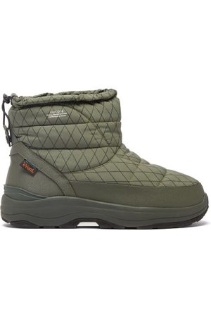 SUICOKE Men Ankle Boots - Bower-evab-pt1 Padded-nylon Ankle Boots - Mens - Olive