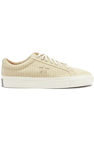 Converse Mellow Mild One Star Canvas Trainers - Mens - Light