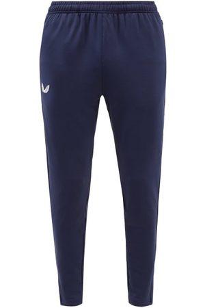 CASTORE Men Sweatpants - Pro Tek Technical-jersey Track Pants - Mens - Navy