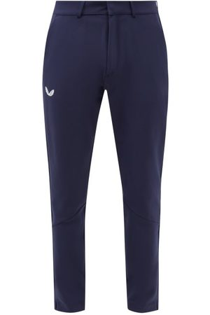 CASTORE Men Chinos - Technical Golf Chino Trousers - Mens - Navy