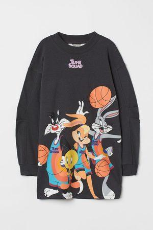 H&M Oversized Printed Sweatshirt