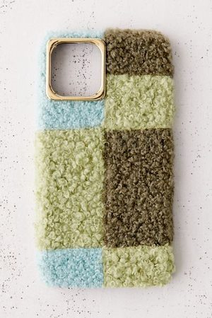 Urban Outfitters Phones Cases - Colorblock Sherpa iPhone Case