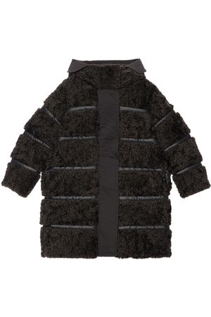 Moncler Girls Coats - Semiha Faux Shearling Down Coat