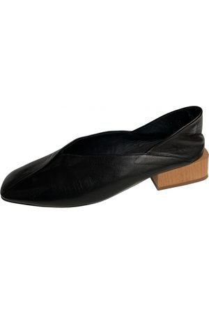 Miista Leather ballet flats