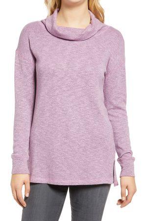 Caslon Women's Caslon Cowl Neck Tunic Sweater