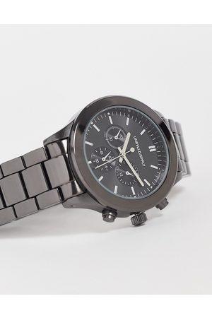 ASOS Men Watches - Bracelet watch in gunmetal