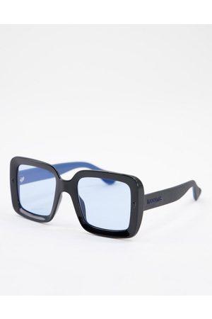 Havaianas Geriba blue lenses square lens sunglasses in