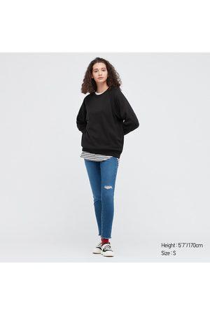 UNIQLO Women's Stretch Fleece Pullover Long-Sleeve Shirt, , XXS
