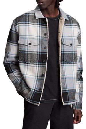 AllSaints Men's Ashtree Plaid Button-Up Shirt Jacket
