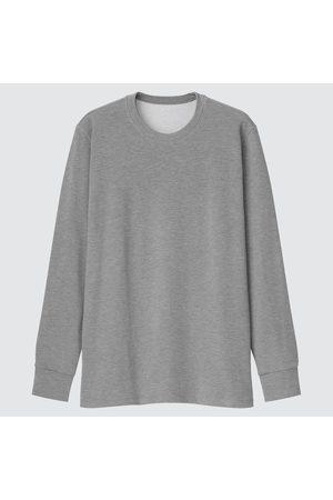 UNIQLO Men Long Sleeve - Men's HEATTECH Ultra Warm Crew Neck Long-Sleeve T-Shirt, , XS
