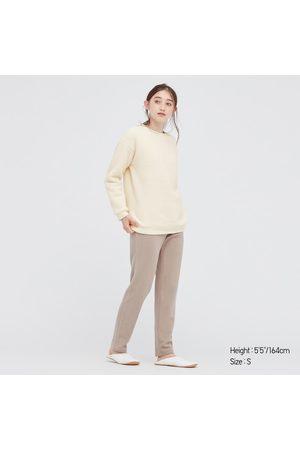 UNIQLO Women's Light Pile-Lined Fleece Long-Sleeve Set, , XS