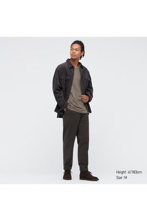 UNIQLO Men Long Sleeve - Men's HEATTECH Cotton Crew Neck Long-Sleeve T-Shirt (Extra Warm), , XS