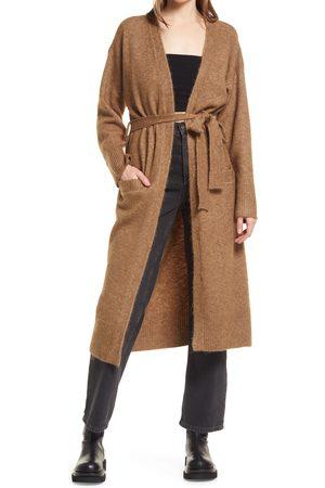 Topshop Women's Belted Cardigan