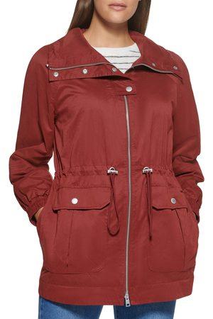 Levi's Women's Women's Cinch Waist Anorak Rain Jacket