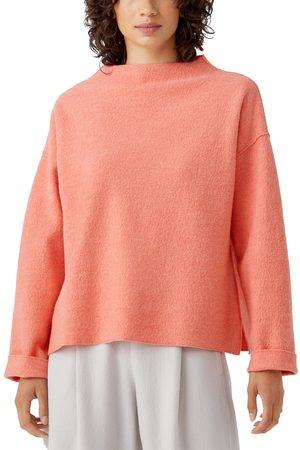 Eileen Fisher Women's Boiled Wool Box Top