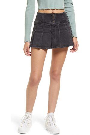 BDG Urban Outfitters Women's Stretch Denim Kilt Miniskirt