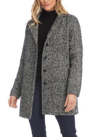 Karen Kane Women's Tweed Coat