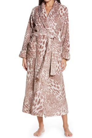 Natori Women's Leopard Plush Robe