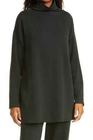 Eileen Fisher Women's High Funnel Neck Tunic Sweater