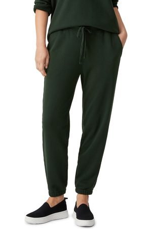 Eileen Fisher Women's Slouchy Organic Cotton Ankle Joggers