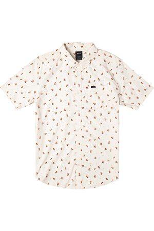 RVCA Men's That'Ll Do Short Sleeve Button-Down Shirt