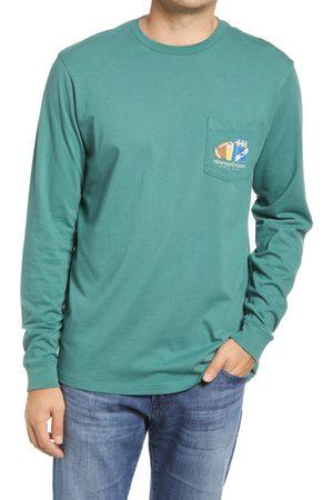 Vineyard Vines Men's Men's Pick Six Long Sleeve Pocket T-Shirt