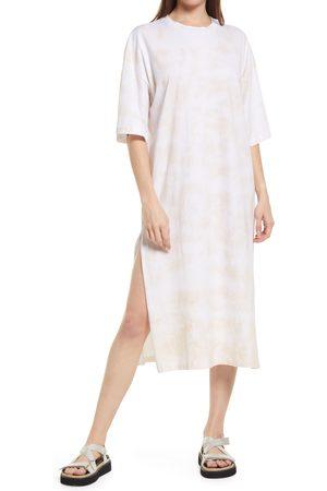 Topshop Women's Oversized T-Shirt Midi Dress