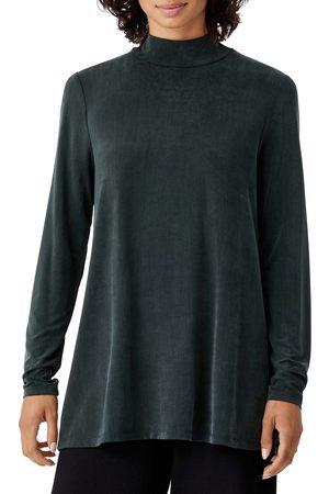 Eileen Fisher Women's Mock Neck Tunic
