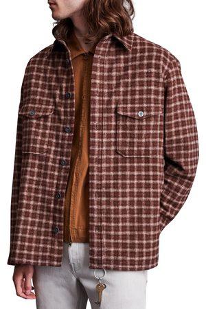 AllSaints Men's Guerra Check Flannel Button-Up Shirt
